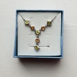 Jewelry - Vintage stone dainty boho necklace
